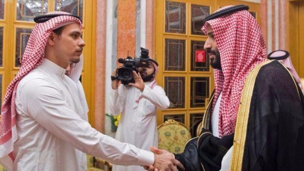 صلاح خاشقجي يلتقي ولي العهد الأمير محمد بن سلمان بعد الجريمة