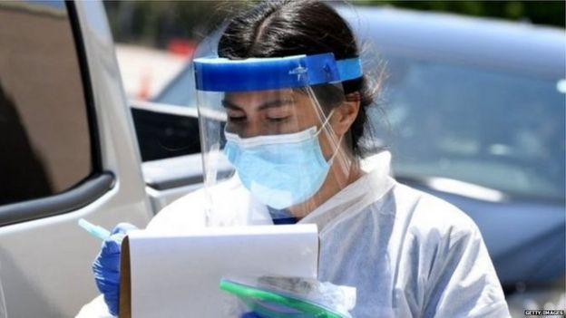 A health worker