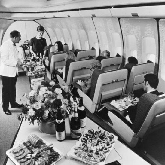 Durante décadas, el 747 se convirtió en sinónimo de viaje aéreo de lujo.
