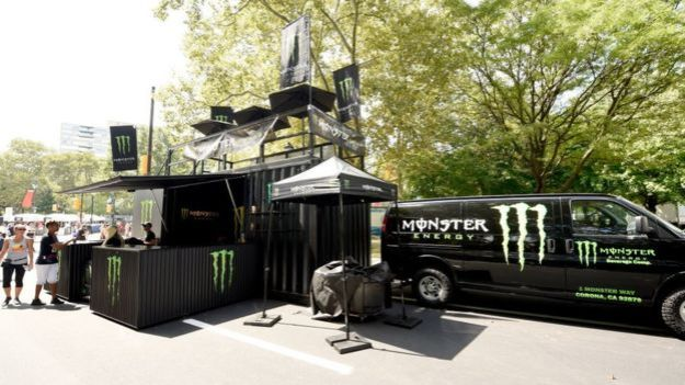 Evento promocional de Monster.