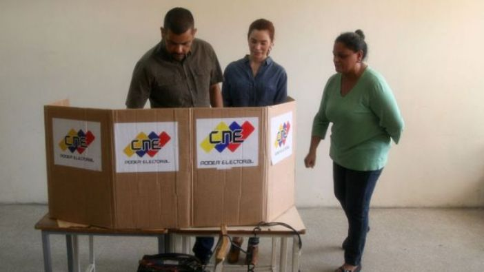 votación en Venezuela