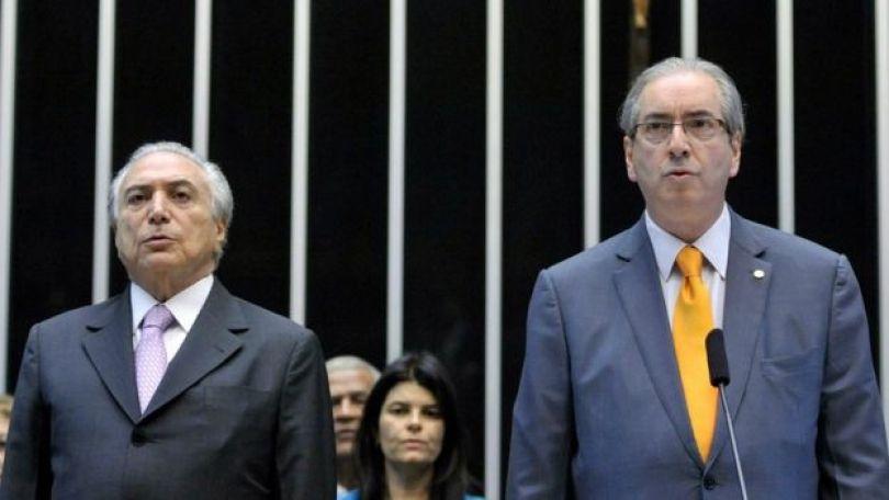 Michel Temer e Eduardo Cunha