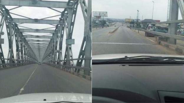 Niger River Bridge in Onitsha
