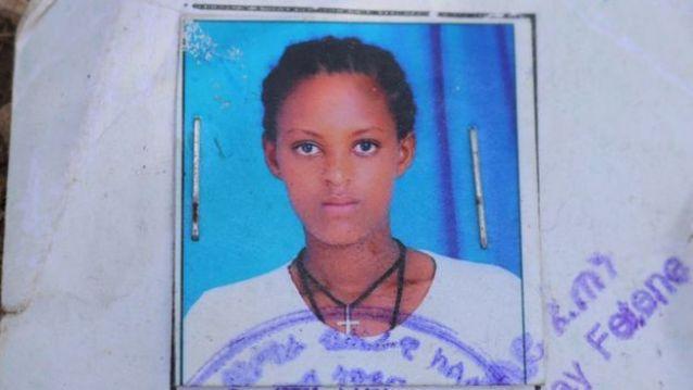Belaynesh Mekonnen, a first-year student at Ethiopia's Dembi Dollo University