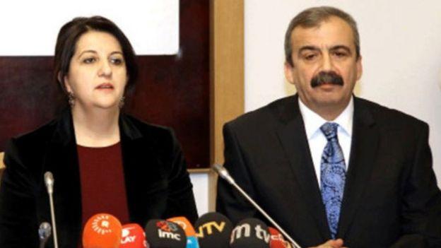 Pervin Buldan ve Sırrı Süreyya Önder