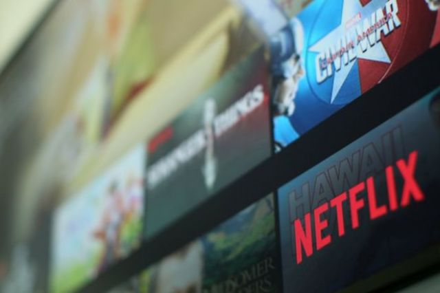 Pantalla de Netflix