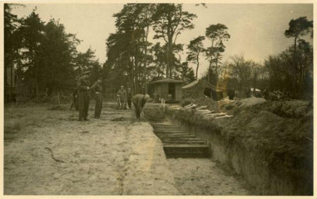 Un cementerio fue creado para los soldados soviéticos.