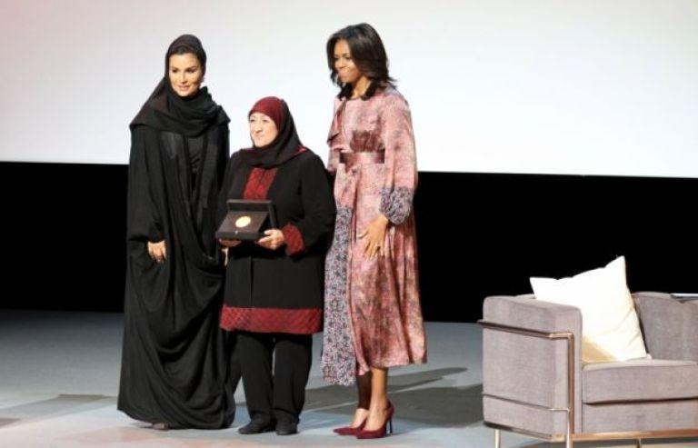 Sakena Yacoobi receives WISE prize