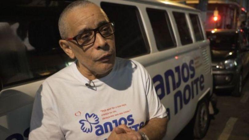 Fundador da ONG Anjos da Noite, Kaká Ferreira