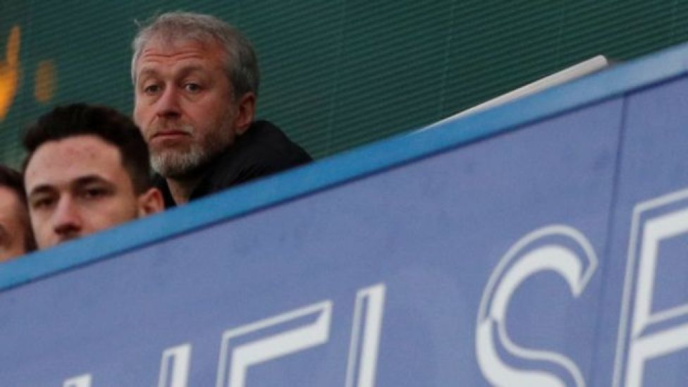 Roman Abramovich at Stamford Bridge on 10 March 2018