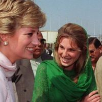 Imran Khan, Jemima and Diana