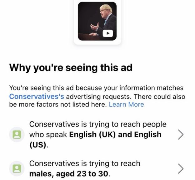 Conservative Party ad