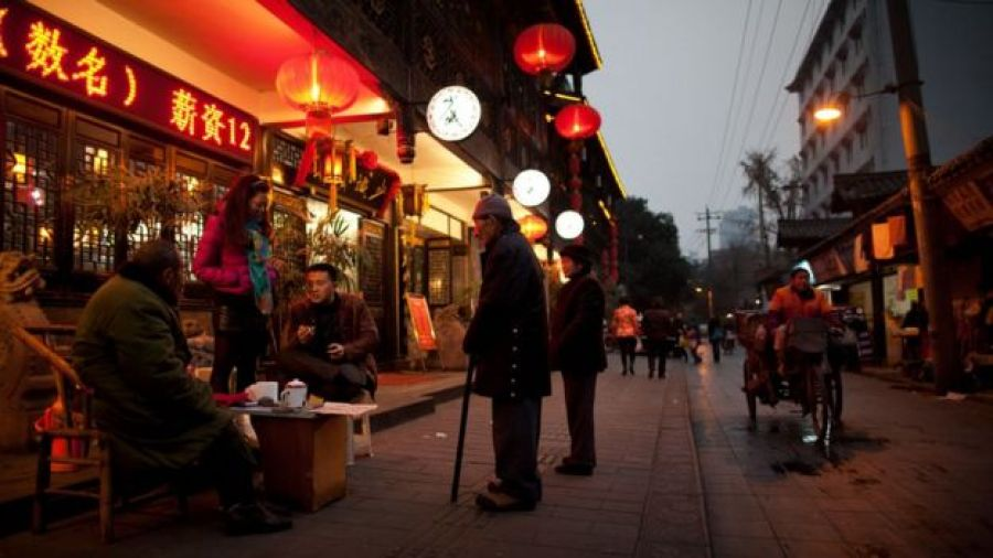 calles de Chengdú