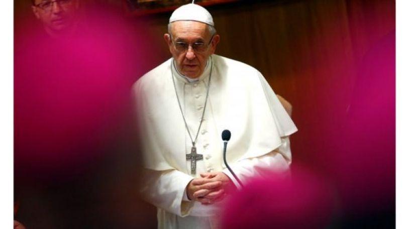 Papa Francisco fala com bispos