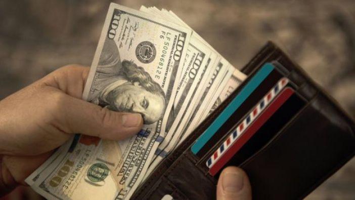 Mano con dólares en billetera