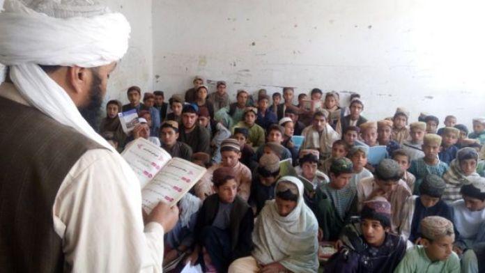 Predavanje u školi u Musa Qali