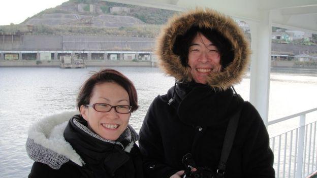 Teruyuki and Yuka Ishikawa