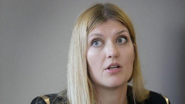 Beatrice Fihn, directiva de la ONG Campaña Internacional para Abolir las Armas Nucleares..