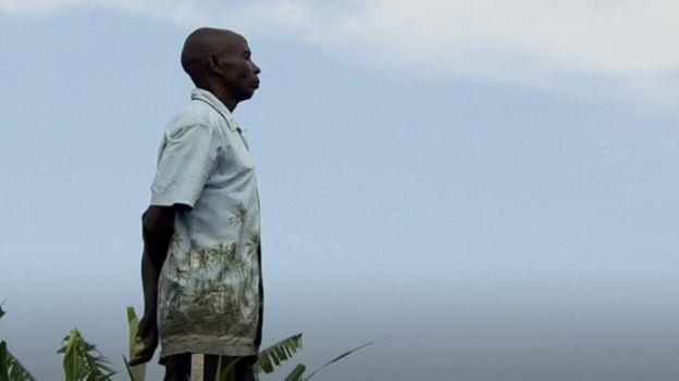 Celestin, que foi um dos autores de assassinatos durante genocídio em Ruanda