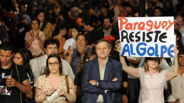 Protestas por Lugo