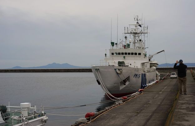 Puerto de Rausu, en Japón