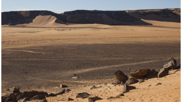 The Libyan Sahara looks very different today