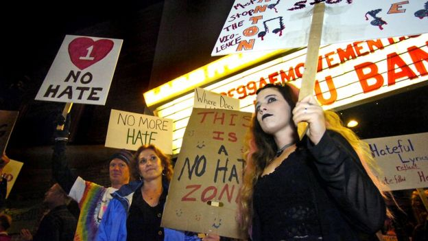 Protestors in Colorado