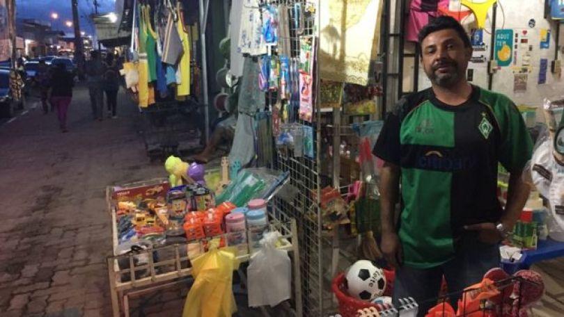 O comerciante Francisco Souza Nogueira