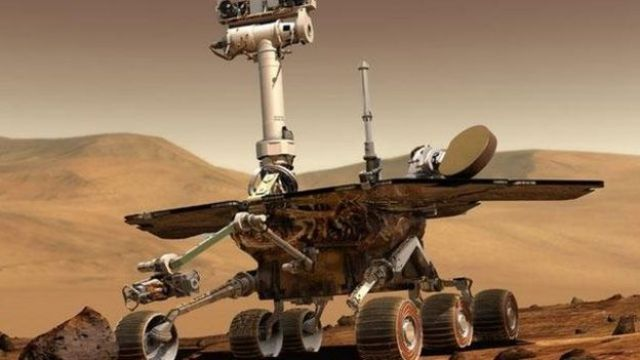 Spirit en Marte