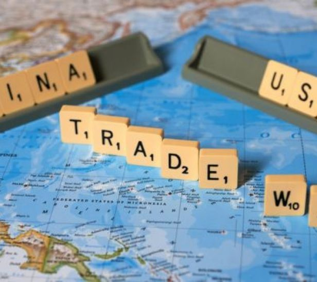 US China trade war letters