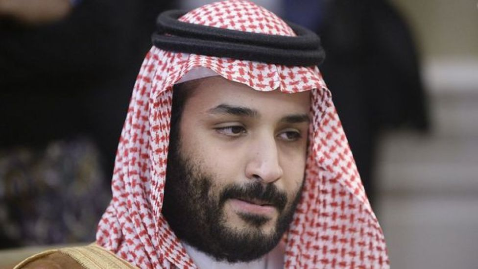 Príncipe heredero saudita Mohammed bin Salman