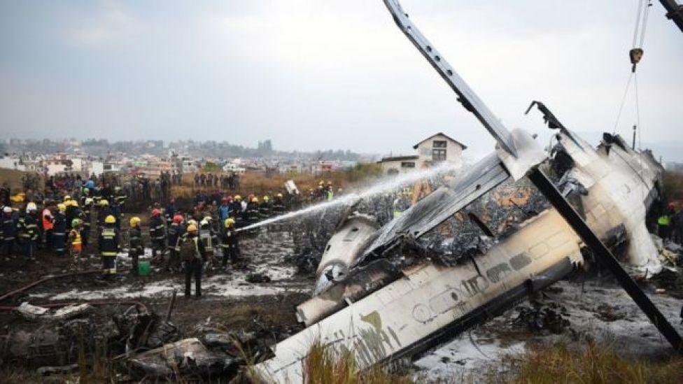 नेपाल में विमान हादसा