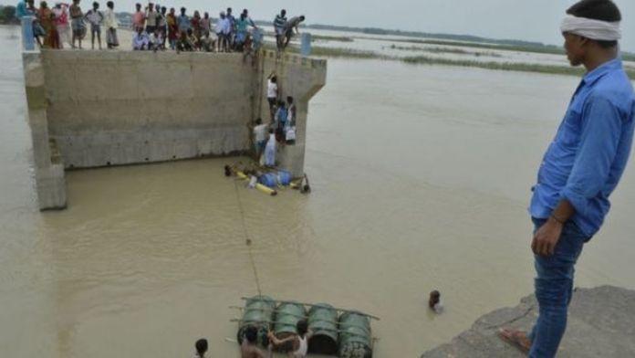 Resgate em área inundada