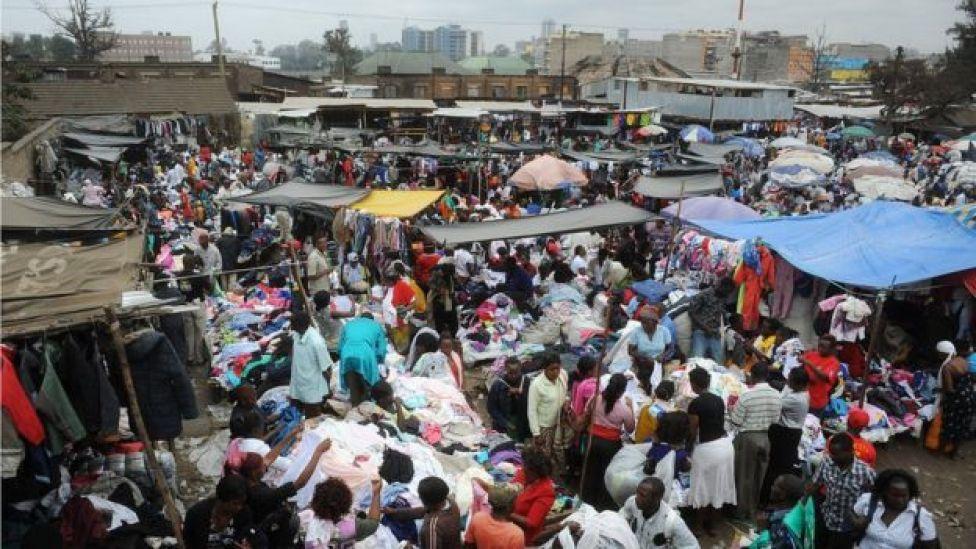 Soko la mitumba kama hili la Gikomba jijini Nairobi