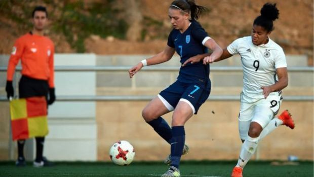 England v Germany U_17s girls' match