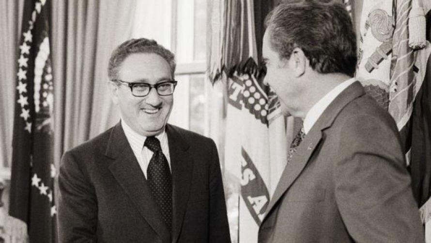 Henry Kissinger và Richard Nixon