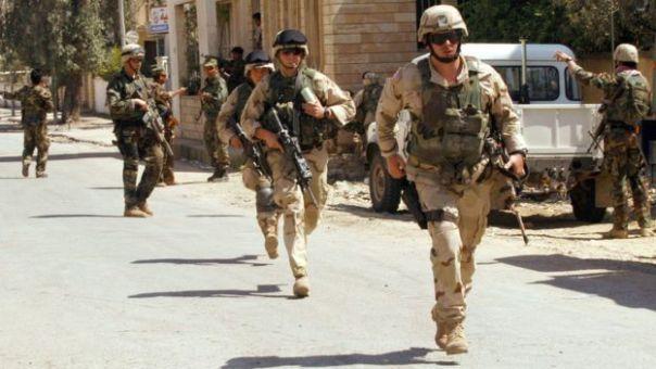Fuerzas de EE.UU. en abril de 2003.