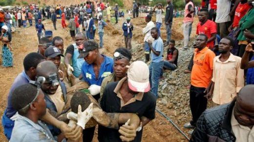 Image result for Zimbabwe flooding: Nine rescued from Kadoma mine shaft