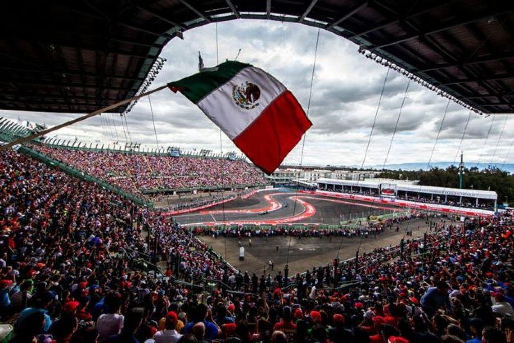 Sector del estadio en México.