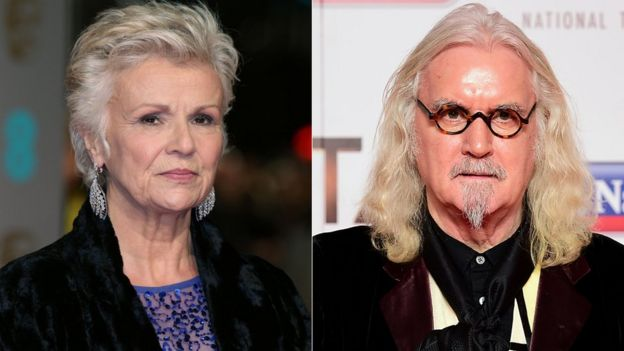 Julie Walters, Billy Connolly