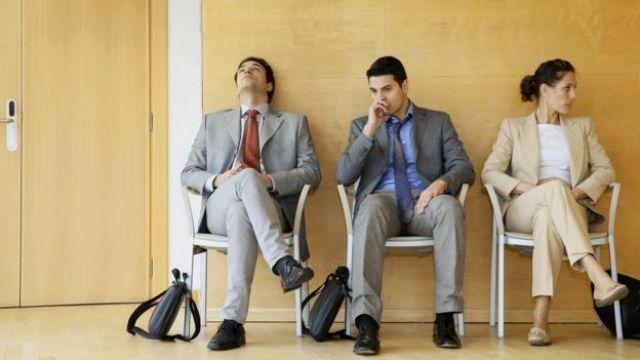 İş görüşmesi adayları