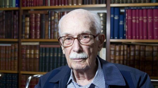 O crítico literário Antônio Cândido