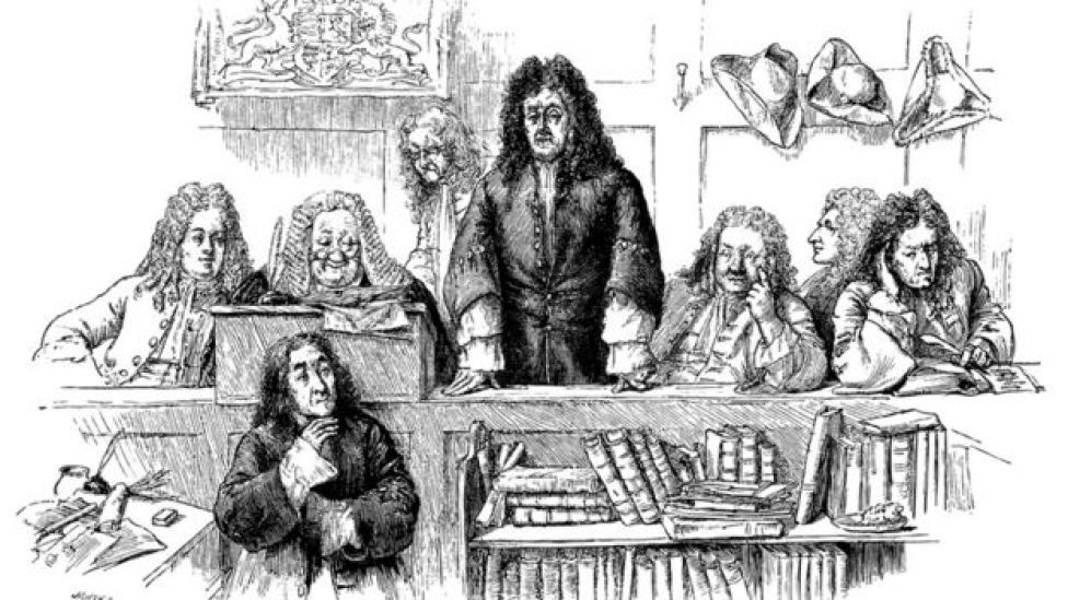 Juicio en el siglo XVIII