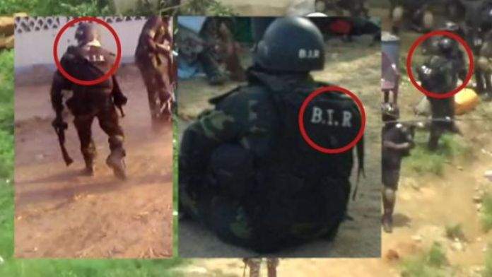 BIR soldiers seen in video still from 2016