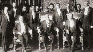 Victoriano Huerta y sus hombres