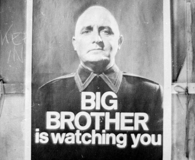 """Poster de la producción de la BBC de """"1984"""""""