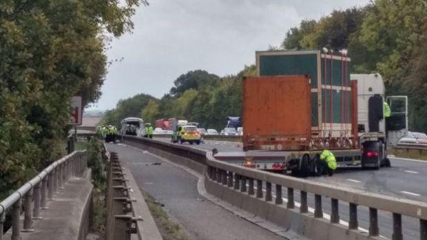 M4 crash