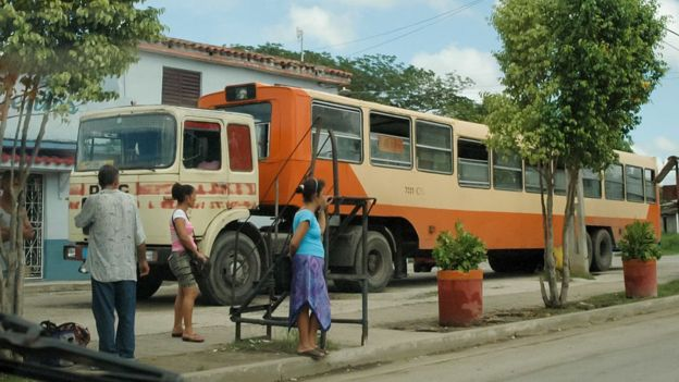 """Un """"camello"""" en Cuba"""