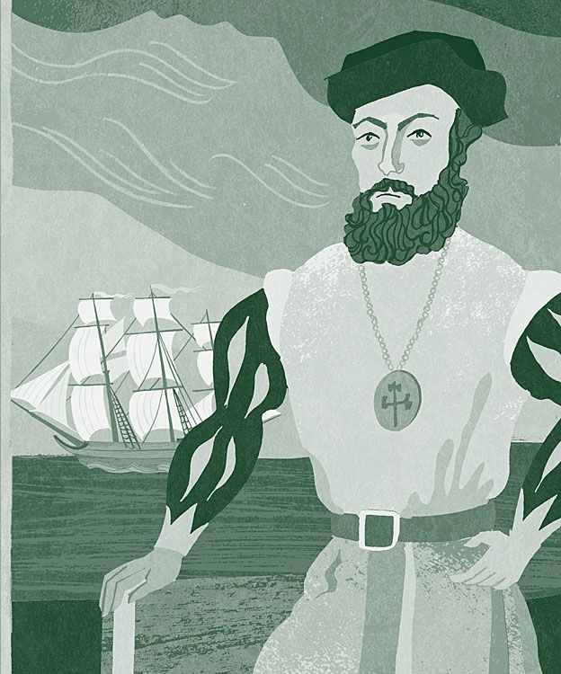Retrato de Magallanes