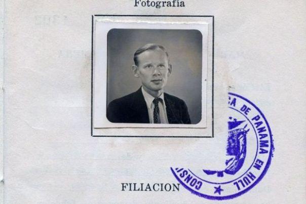 El registro de la Marina Mercante Panameña de John Colvin, datada en 1949.